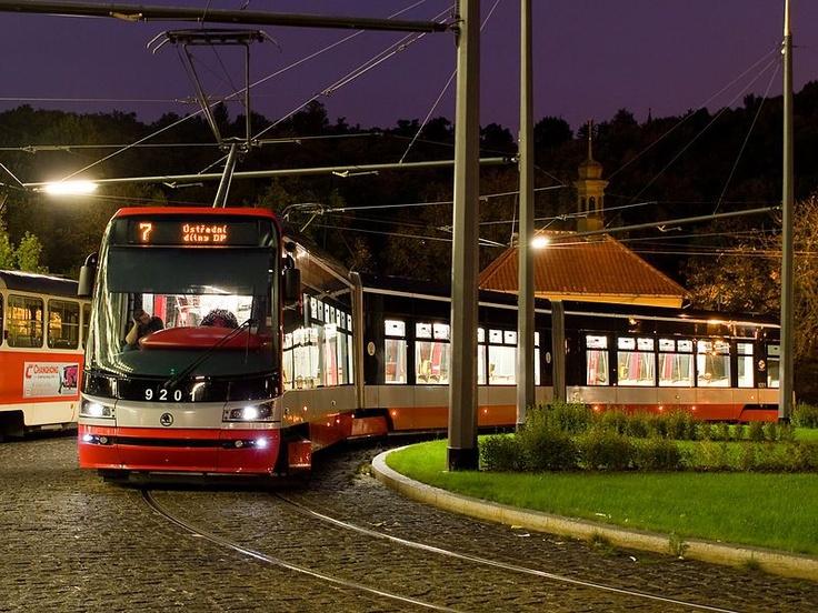 Škoda 15T, a low-floor, multiple unit tram in #Riga