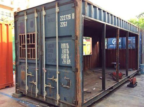 Wir zeigen dir, was man mit 5000 € aus einem alten Seecontainer machen kann