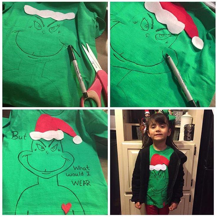 Make my princess a mr grinch shirt for school