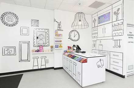 Cartoon Candy Store
