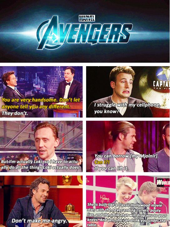 """The Avengers: A Documentary"" - in theaters now."