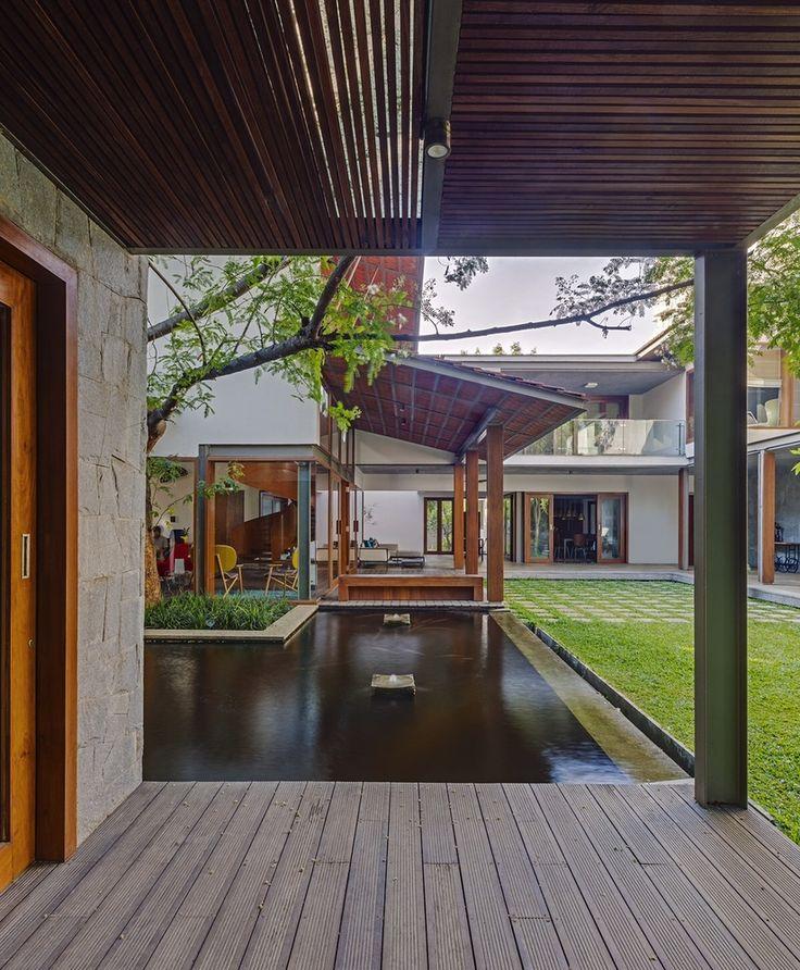 Gallery Of Krishnan House Khosla Associates 2 Village House Design House Design House Architecture Design