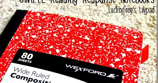One of the major changes to my reading curriculum this year has been adding reading response journals.   We waited a few weeks to get our re...