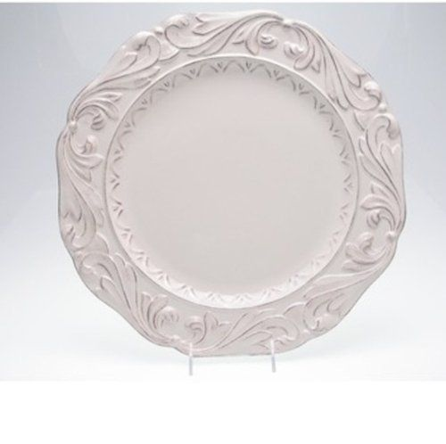 Firenze Ivory Dinner Plate by Pamela Gladding (Set of 4) by Certified International.  sc 1 st  Pinterest & 21 best White Ironstone images on Pinterest | Dinnerware Set of and ...