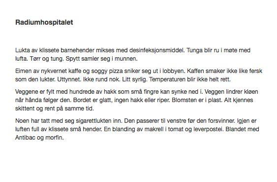 Radiumhospitalet Månedens TrafoTalent Juni 2014 #trafo #talentofthemonth #young #artists #norway