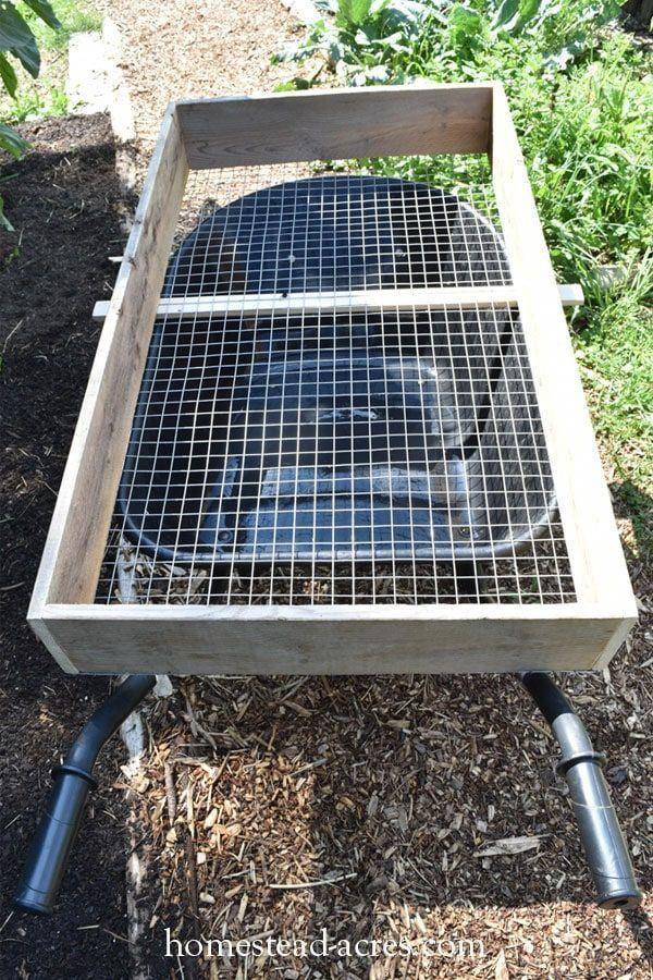 Modern Garden Idea Kompost Kompost Sieb Kompostierung