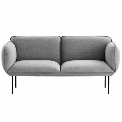 The Nakki sofa is meant to be a cheerful personality in the room. The sofa has ample, yet firm padding for a comfortable sit. The Nakki series is suitable for both private and contract use.