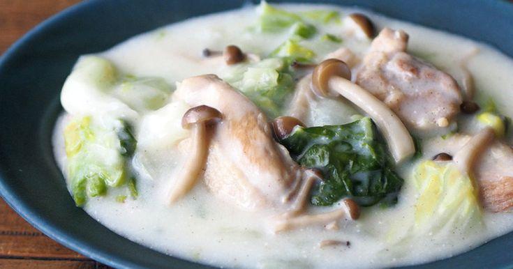 トロトロ〜♪鶏肉と白菜のクリーム煮 by トイロ* [クックパッド] 簡単おいしいみんなのレシピが259万品