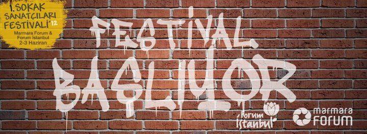 1. Sokak Sanatçıları Festivali 2-3 Haziran'da Marmara Forum'da!