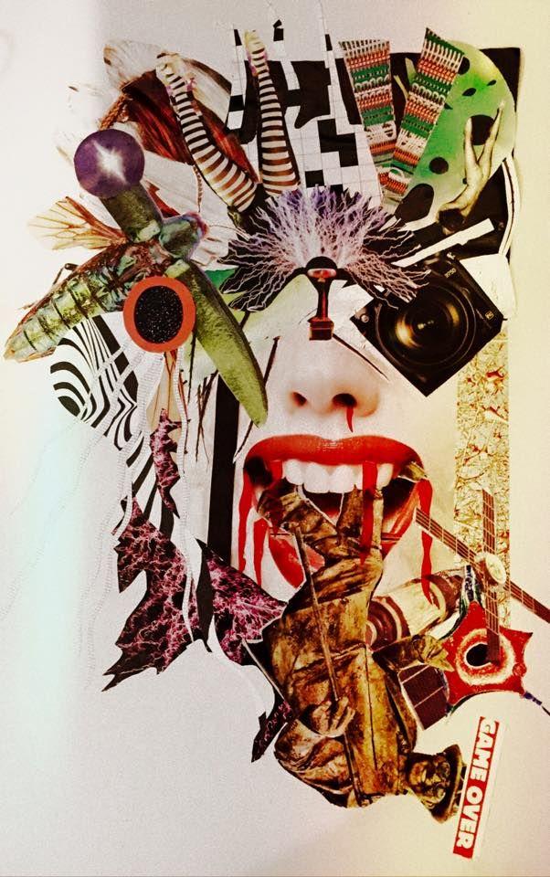 Collage by Eleonora Zaccagnino Acid Drop