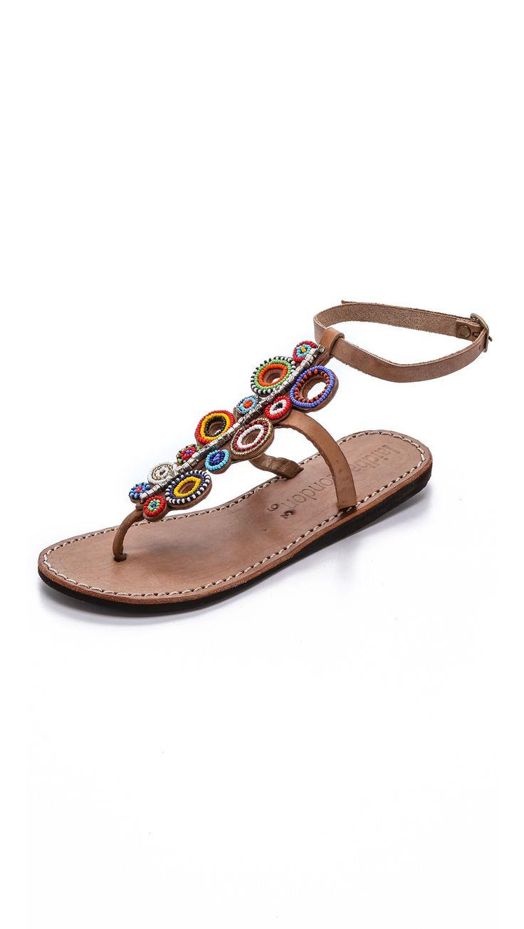 Laidback London Skye Beaded Sandals | SHOPBOP