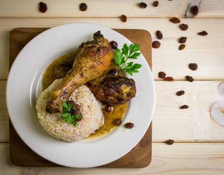 """Kurczak smaczny inaczej - old polish recipe """"tasty chicken second version"""""""