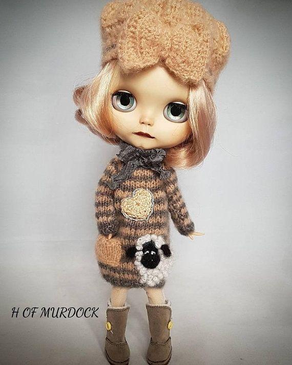 Sheep Dress & Hat Set