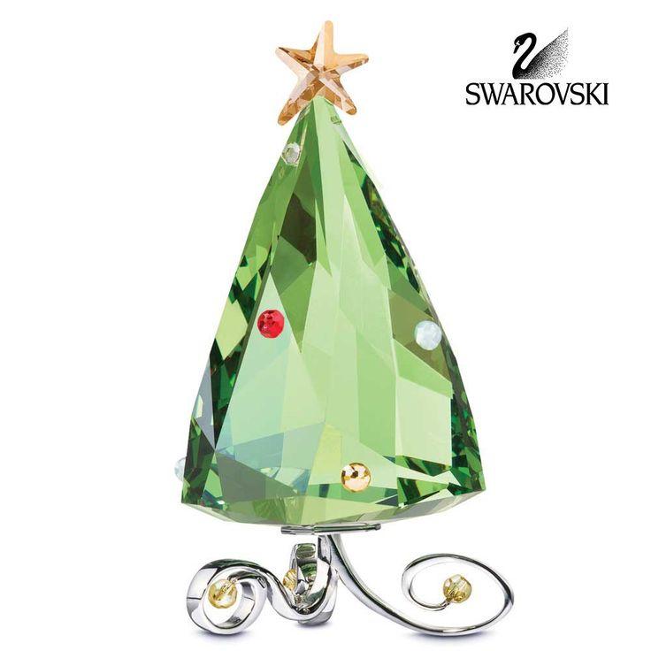 Swarovski Crystal Figurine Christmas WINTER TREE #5155709