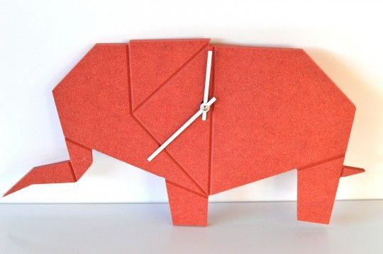 Orologio a parete Elefante