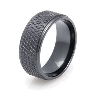 The Puck Ring, Sports Wedding Rings - Titanium-Buzz.com