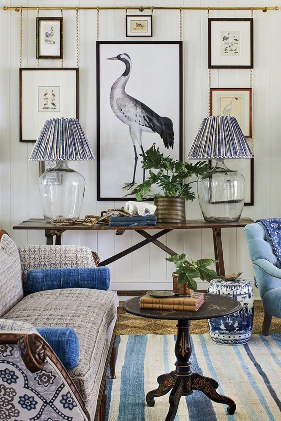 Southern Living Idea House 2109 Southern Living Homes Rooms Home Decor Gallery Wall Living Room
