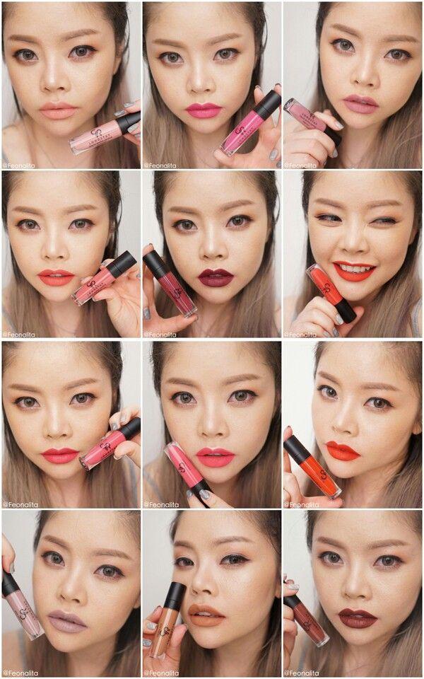 Golden rose liquid matte lipstick [all shades]