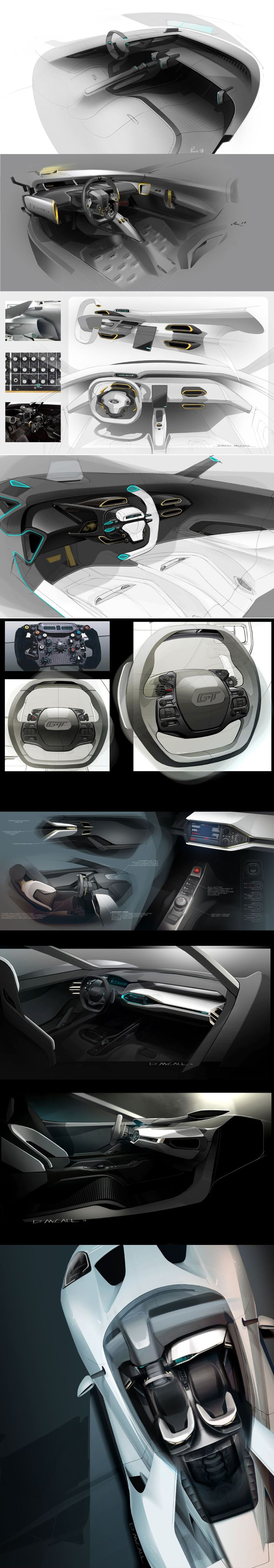 Ford GT Interior ::                                                                                                                                                                                 More