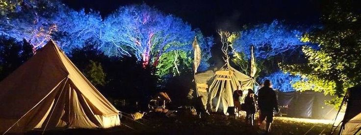 Enchanted woodland #mondomix @iow festival lighting.
