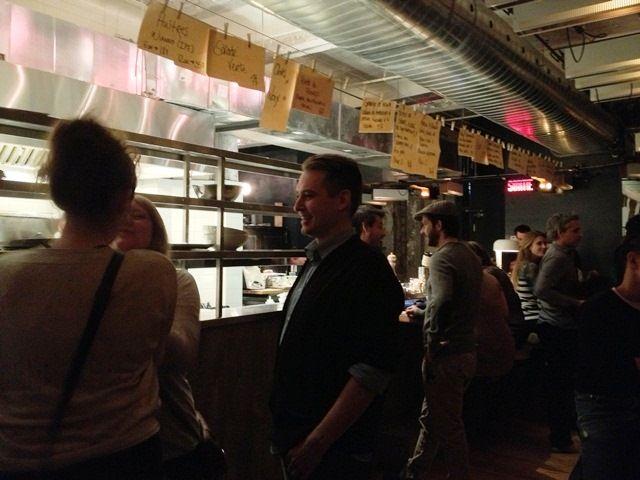 bar furco montreal menu sur corde à linge