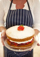 GOOD TIPS! Mine turned out perfectly:  Tips to Make a Feather Light Sponge Cake