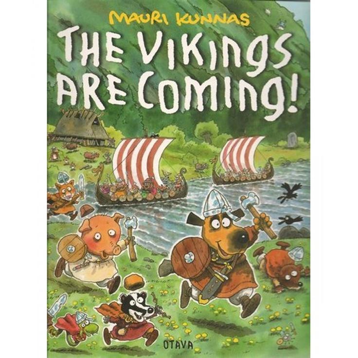 Mauri Kunnas The Vikings Are Coming!