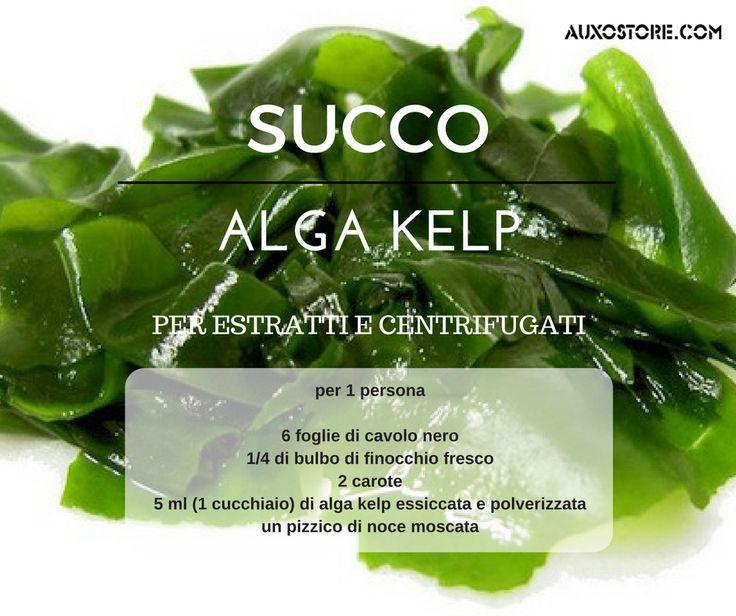 Succo all'alga Kelp #ricetta #allattamento