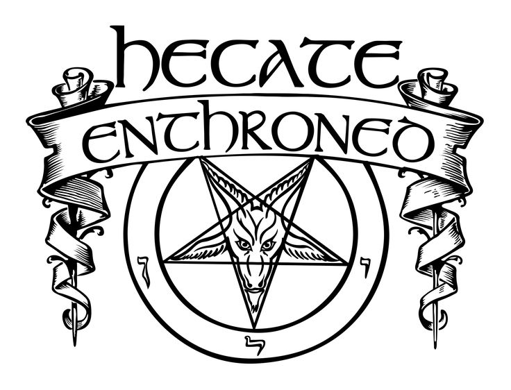 HECATE ENTHRONED (UK) .: BLACK METAL :. - official logo