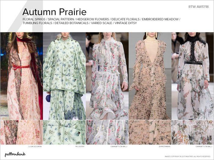 Autumn/Winter 2017 Catwalk Print & Pattern Trend Report ...