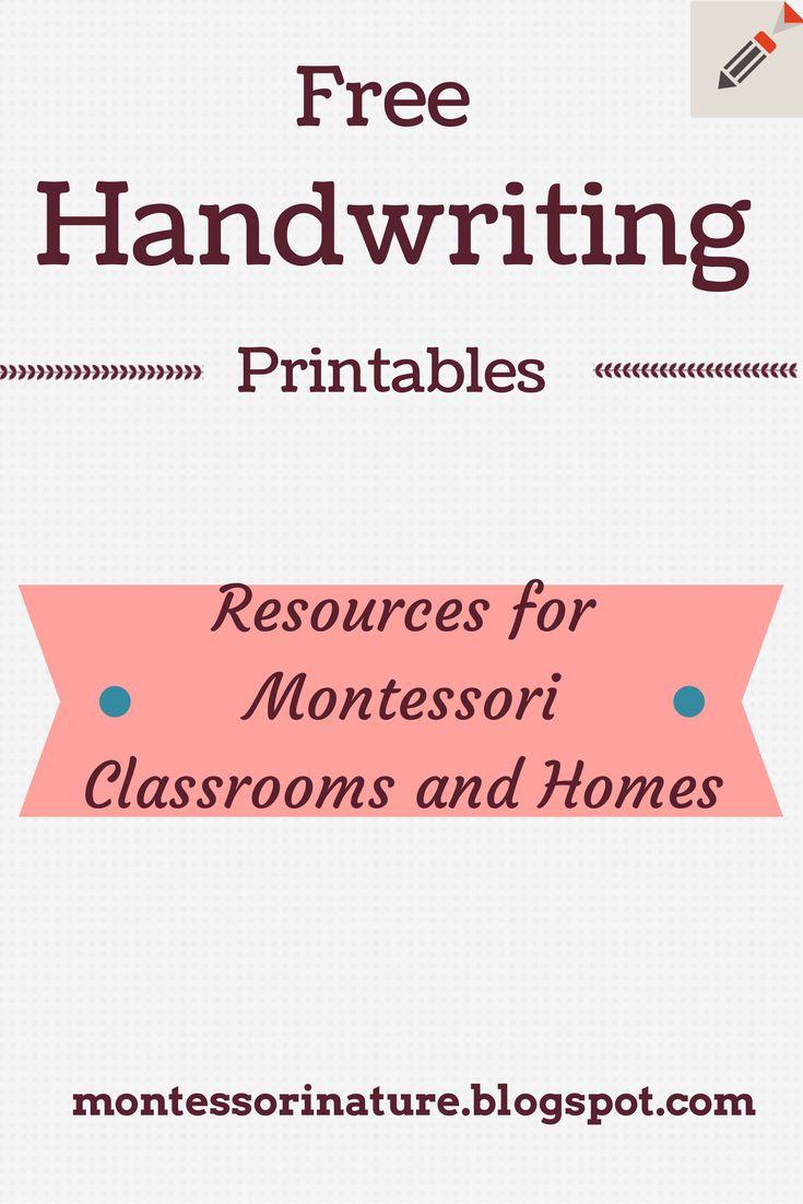 149 best Montessori - Language Arts images on Pinterest | Language ...