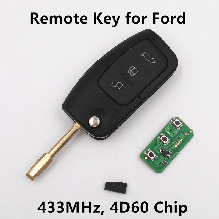 for FORD Mondeo Focus Fiesta C Max S Max Galaxy 3 Buttons 433MHz with 4D60 Chip Keyless Entry Fob Car Alarm New Remote Key #shoes, #jewelry, #women, #men, #hats, #watches, #belts