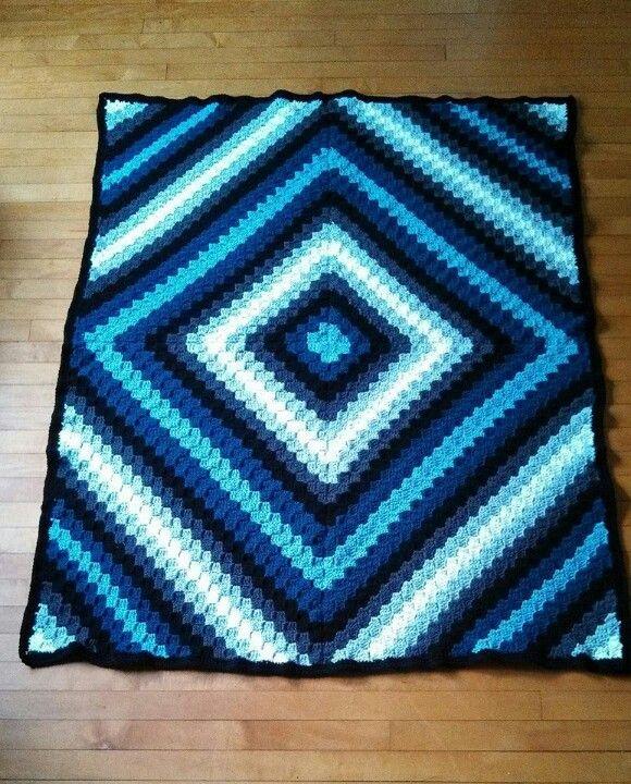 Crochet Pattern For C2c Blanket : 17 beste afbeeldingen over Haken/crochet/virka op ...