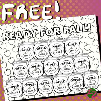 Ready For Fall Coloring Page 2 By Clip Art Imelda Zaldivar