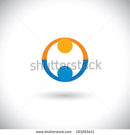 concept vector of people icons greeting, partnership, deal. This graphic can represent trust, friendship, meeting, close relationship, business handshake, finalizing contract & transaction