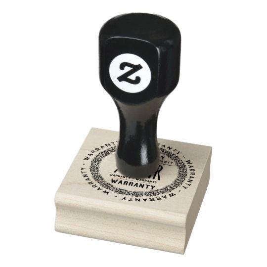 7 year warranty stamp