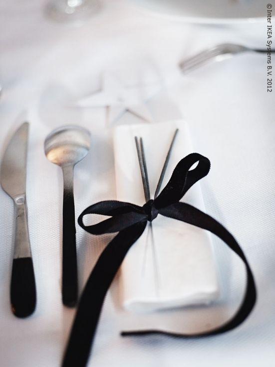 Een elegant feest in zwart/wit