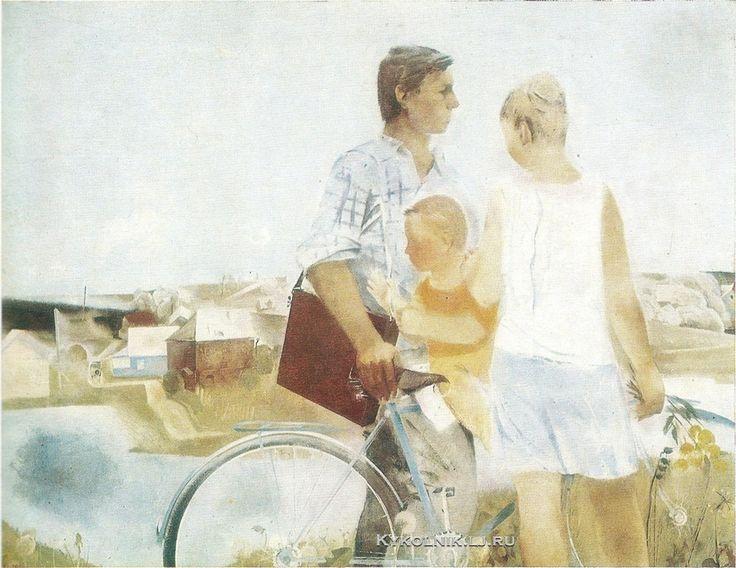 Уралов Иван Григорьевич (Россия, 1948) «Конец лета» 1976