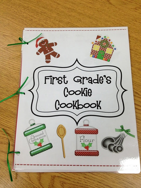 Class cookie cookbook...Each child takes a recipe sheet home and writes out a favorite family recipe to put in class book...could have family project to make cookies and send a cookie plate home with each kid for holidays!