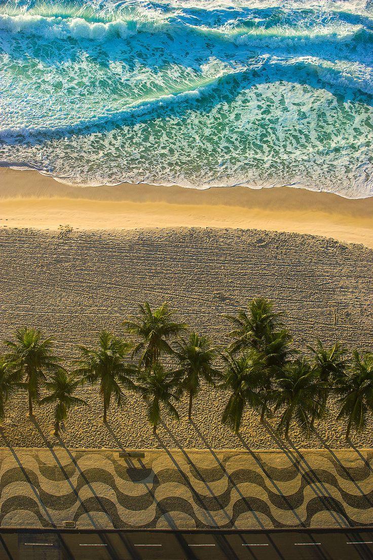 Orla da Praia de Copacabana, Rio de Janeiro - RJ - Fotografias e Quadros   Compre na Peach Photo Art
