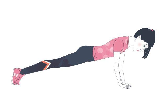 Treenaa itsellesi pyykkilautavatsa – 4 tehokasta vatsalihasliikettä   Me Naiset