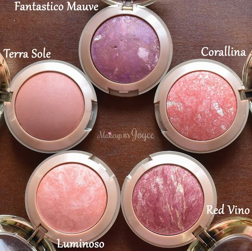 Love the pigmentation of these Milani Baked blushes!