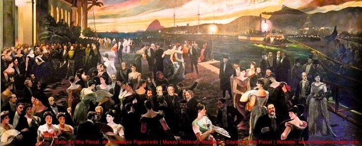 Baile da Ilha Fiscal-a última grande festa da monarquia antes da Proclamação da República Brasileira, em 15 de novembro, uma sexta-feira.