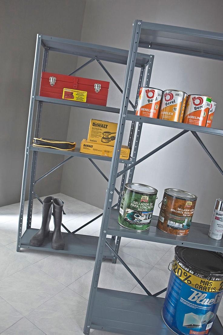 Las 25 mejores ideas sobre estantes de metal en pinterest - Estantes de metal ...