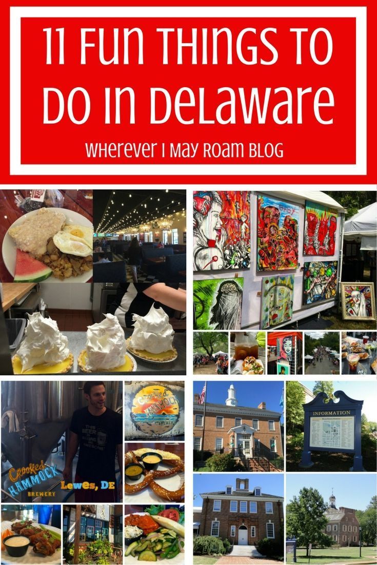 Who knew Delaware had so many awesome things to see and do? Here is my list of 11 fun things, including one of the country's most impressive mansions, delicious dining spots, and a world-class brewery tour.