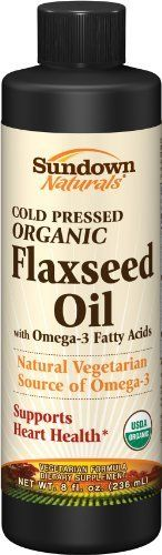 Sundown Flaxseed Oil, 8 Ounce by Sundown. $7.38. Dietary supplement. Made with…
