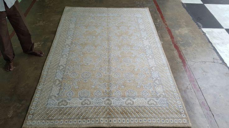 Zero pile bamboo silk