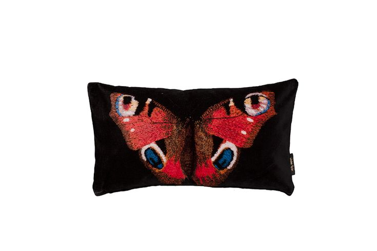 Butterfly Cushion | Inspired by Britain's rich and diverse flora and fauna, Lindsay has used her unique three-dimensional embroidered sculptures to produce this range ... view details on www.treniq.com