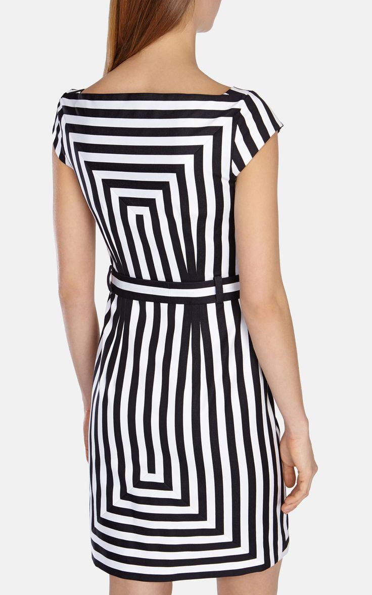 Графическое платье-рубашка в п
