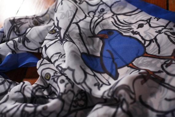 Argle Bargle Silk Scarf